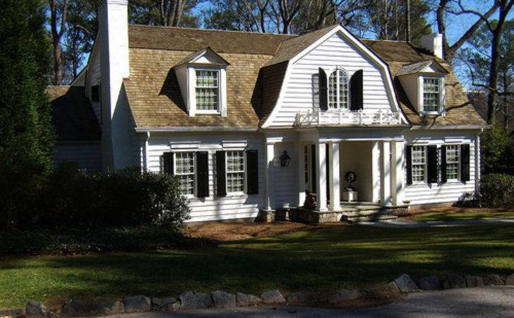 Dutch Colonial Home Plans Over House