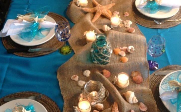Easy Arrangement Centerpieces Beach Wedding Ideas
