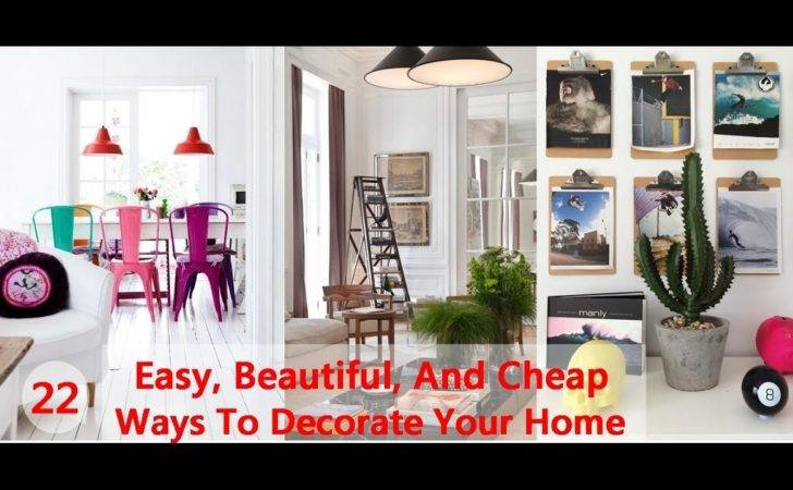 Easy Beautiful Cheap Ways Decorate Your Home
