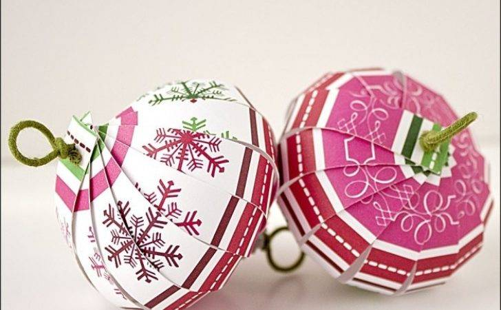 Easy Diy Ornaments Can Make Out Paper Porch Advice