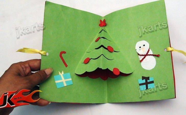 Easy Pop Christmas Card Arts Youtube