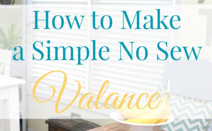 Easy Sew Valance More Projects Mom Real