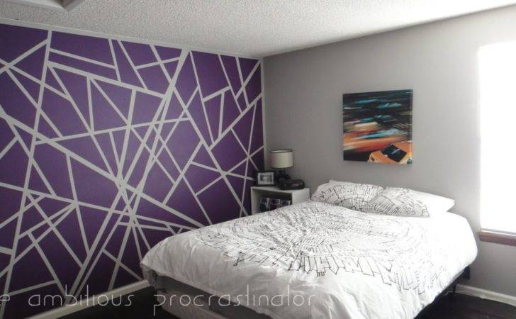 Easy Wall Painting Ideas Tape Paint Artwork Tierra Este