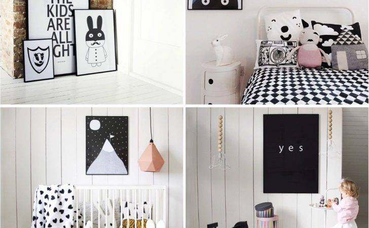 Ebabee Likes Playful Black White Posters Kids Bedrooms