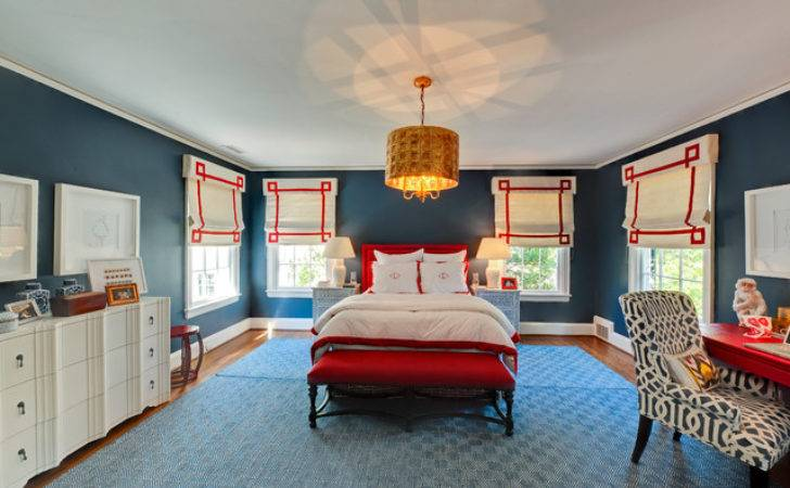 Eclectic Bedroom Remodeling Ideas Blue Interior