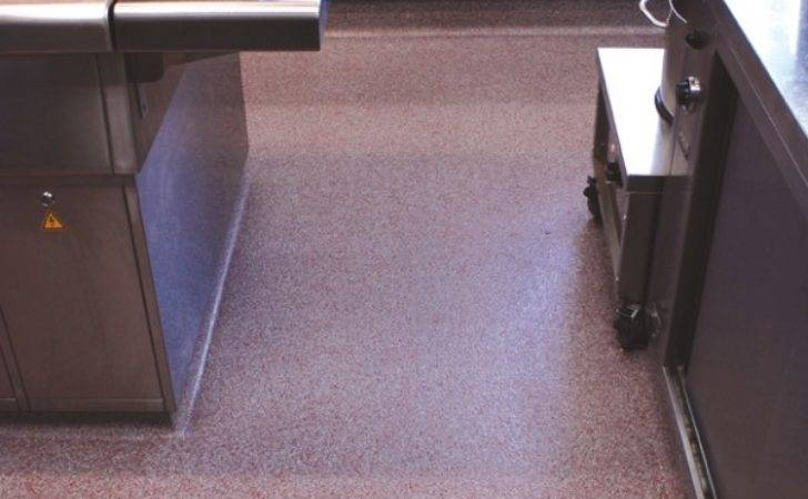 Eco Friendly Commercial Kitchen Flooring Red