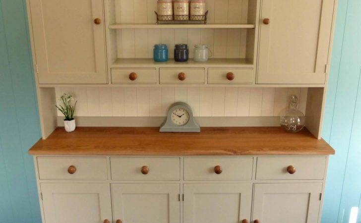 Edmunds Painted Kitchen Dresser Solid Wood