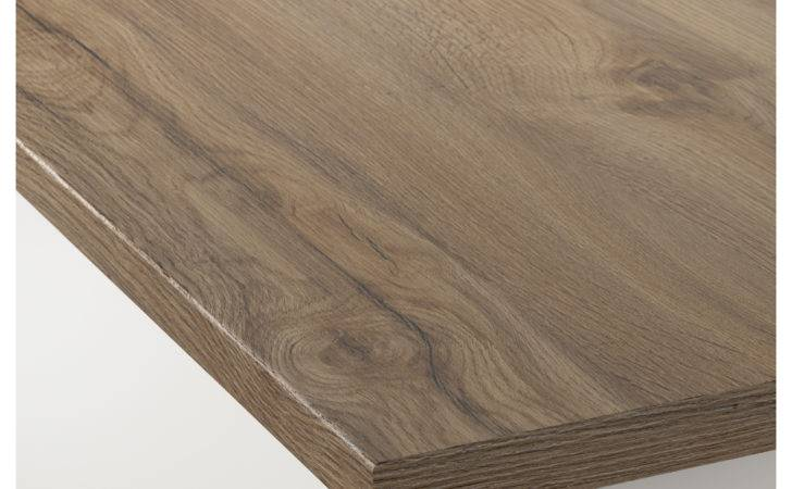 Ekbacken Custom Made Worktop Dark Oak Effect Laminate