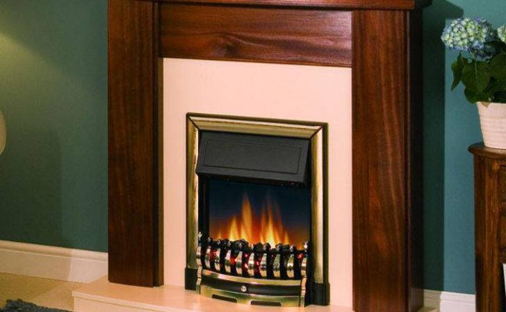 Electric Fires Suites Standing Inset Basket