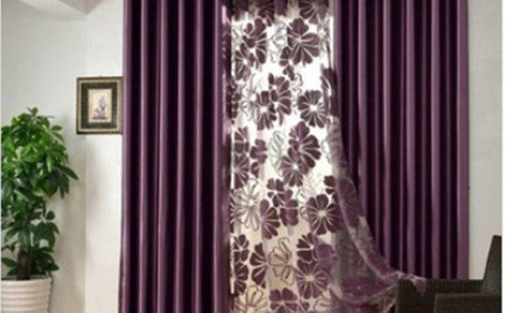 Elegant Contemporary Bedroom Curtains Solid Color