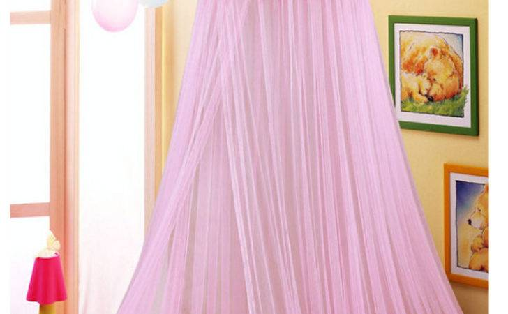 Elegant Netting Bed Canopy Mosquito Pink Princess