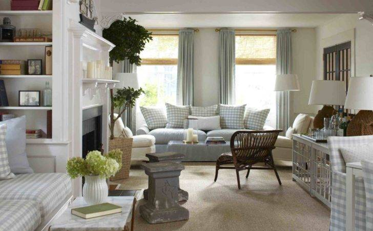 Elegant New England Style Living Rooms Lot More
