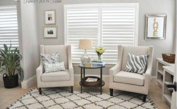 Elegant Small Sitting Room Ideas Accent Color Like