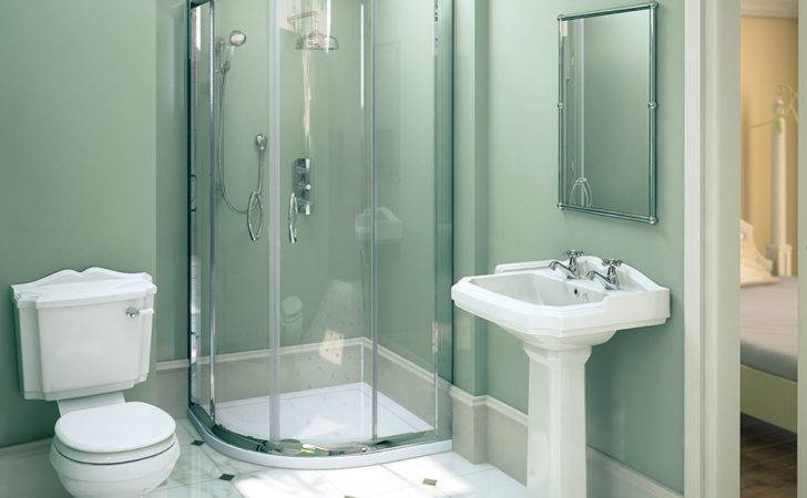 Ella Shower Quadrant Oxford Suite Set