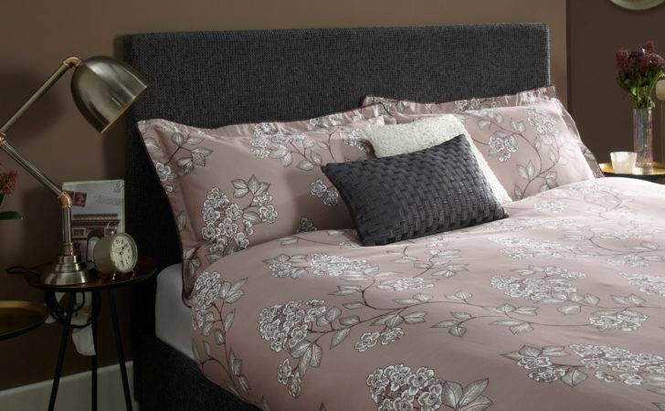 Emily Graphite Upholstered Fabric Bed Frame Next Day