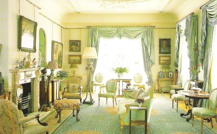 English Decorating Regency Furniture Clarence House