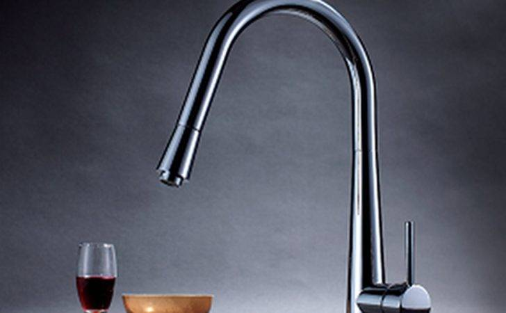 Enki Modern Pull Out Kitchen Sink Tap Mixer Faucet High