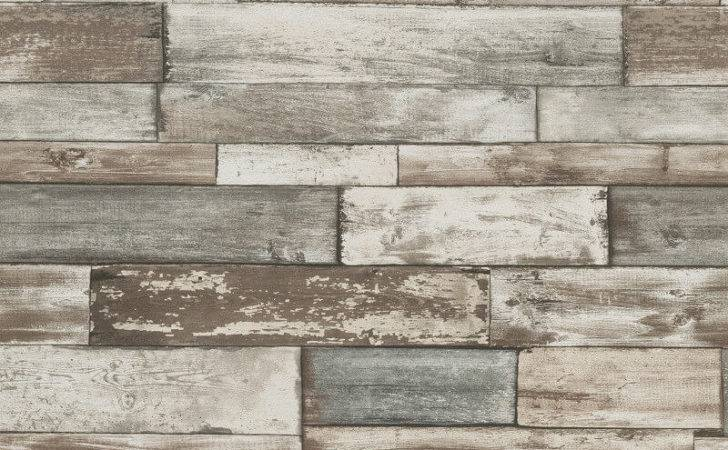 Erismann Authentic Wood Panel Grey
