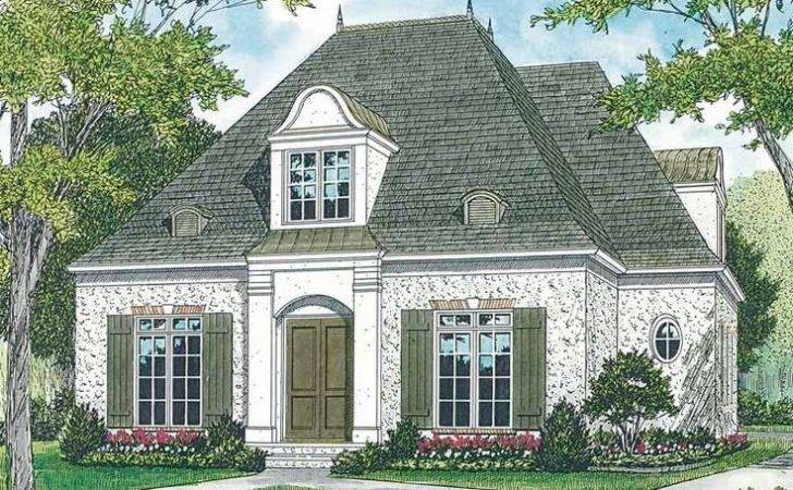 Exceptional Small French Country House Plans