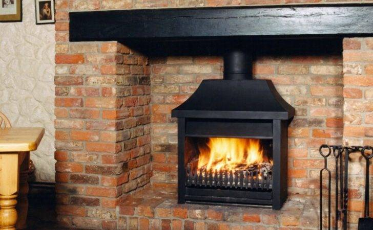 Exciting Open Fireplace Designs Simple Design