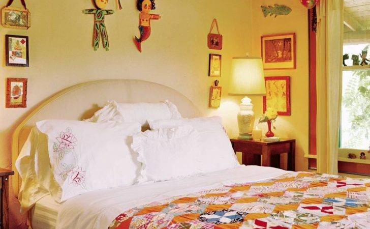 Exotic Bedroom Anjelica Huston Architectural Digest