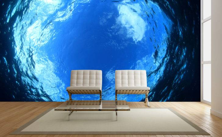Exotic Underwater Wall Mural Ideas Your Living Rooms