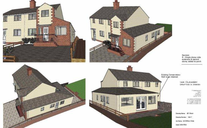 Extension Planning Permissionian Cleasby Drafting Design