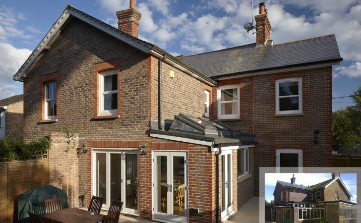 Extension Semi Detached Victorian House Style Design