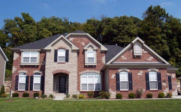 Exterior Brick Colors Red House