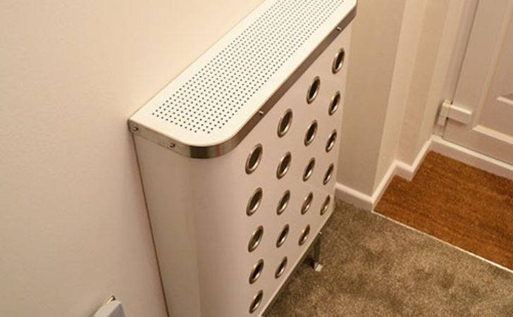 Eyelet Radiator Covers White Yoyo Cover