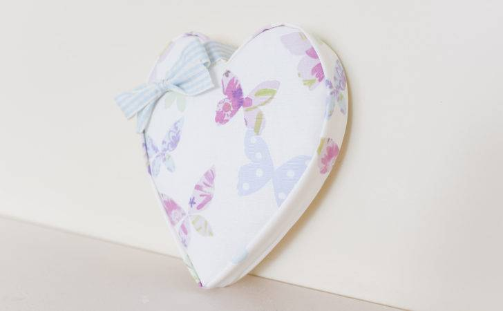 Fabric Individual Hearts Lily Mae Designs Personalised
