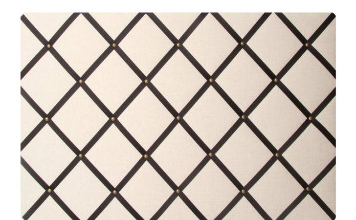 Fabric Memory Board Cream Black