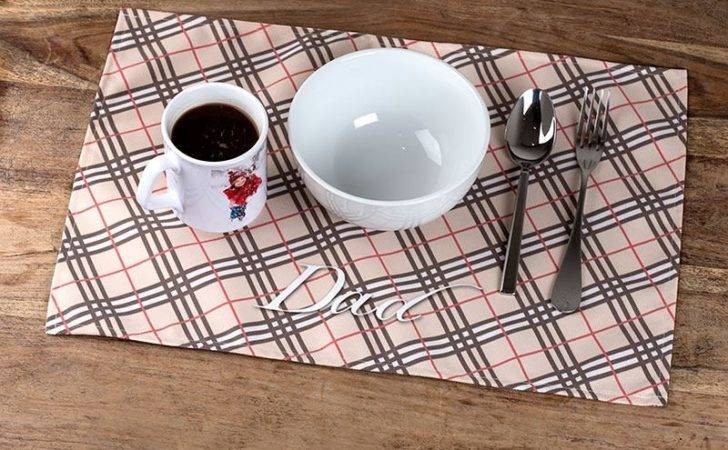 Fabric Placemats Personalised Placemat Gifts Photos