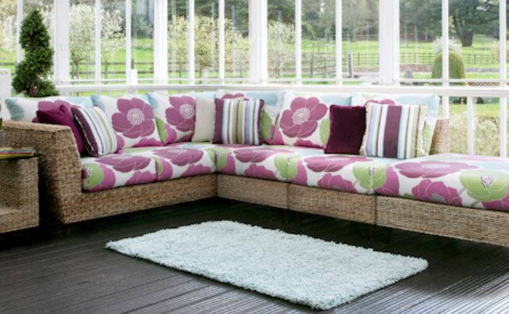Fabric Sofa Conservatory Reversadermcream
