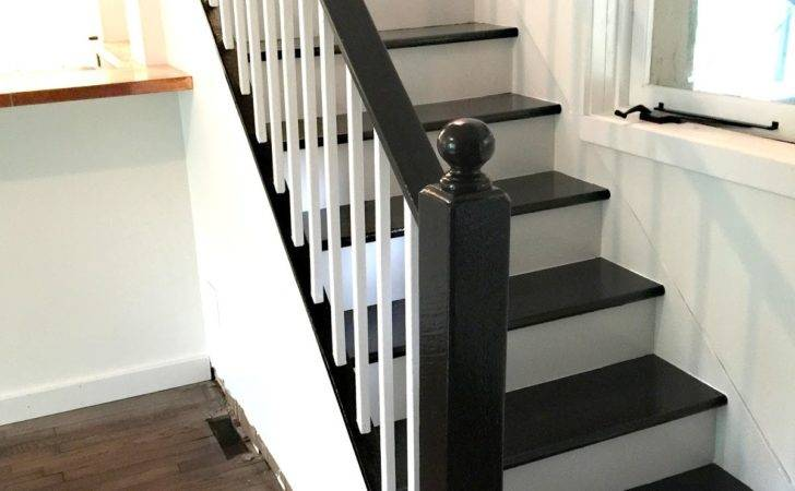 Facci Designs Paint Staircase Black White