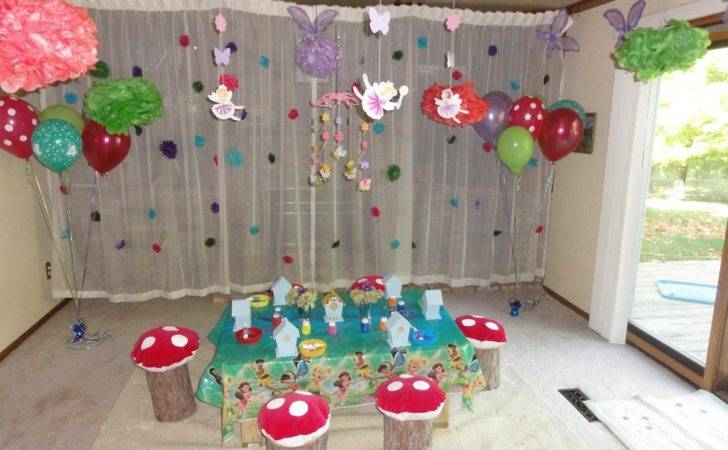 Fairy Birthday Party Decorating Ideas Home