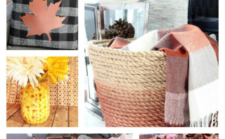 Fall Home Decorating Ideas Budget Pinterest Inspired