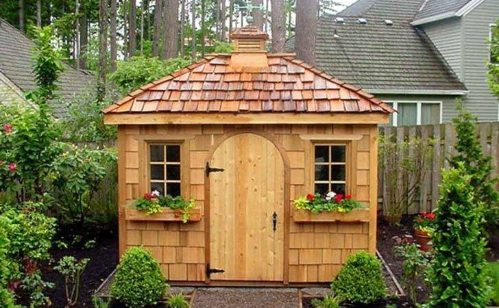 Fancy Garden Sheds Construct Your Personal Shed