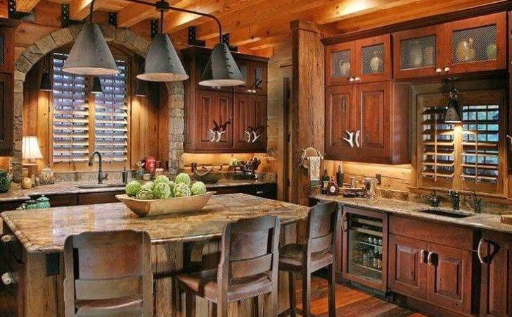 Farmhouse Style Kitchen Rustic Decor Ideas