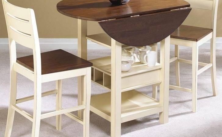 Fascinating Drop Leaf Dining Table Small Spaces Pics