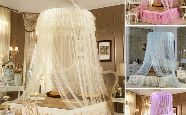 Fashion Princess Bed Canopy Mosquito Netting New