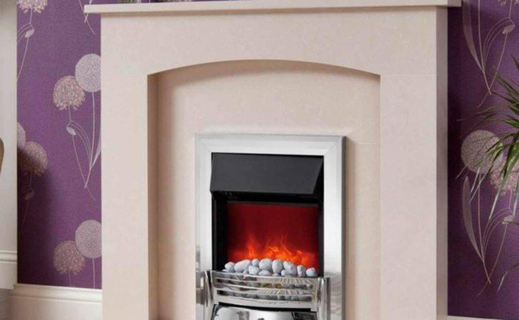 Fast Delivery Modern Isabelle Manila Marble Fireplace