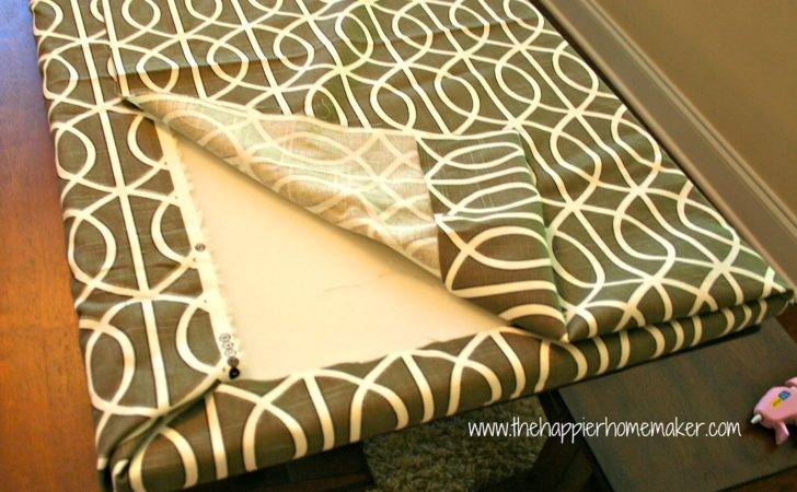 Fast Sew Bench Cushion Happier Homemaker