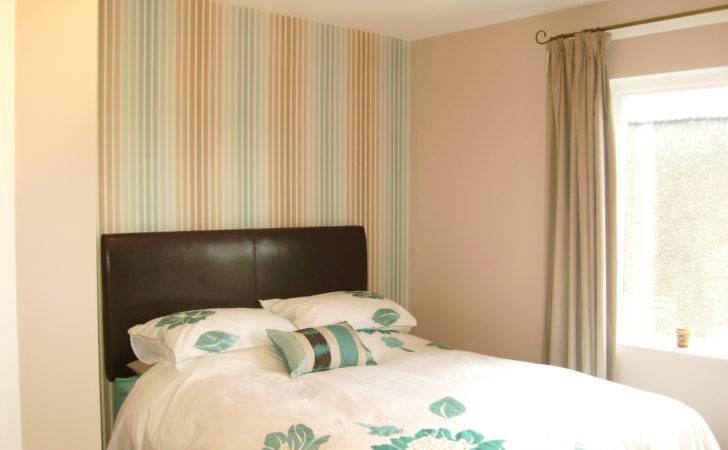 Feature Wall Bedroom Paperlily Interiors