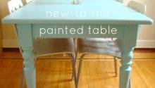 Feedbag Painted Table