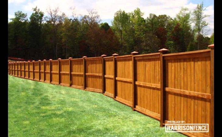 Fence Stain Colors Youtube