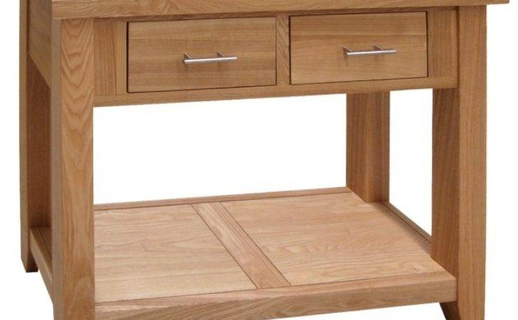 Ferra Solid Ash Hallway Furniture Small Console Hall Table