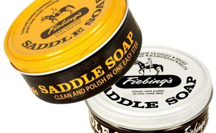 Fiebings Saddle Soap Cleans Conditions Nourishes Softens