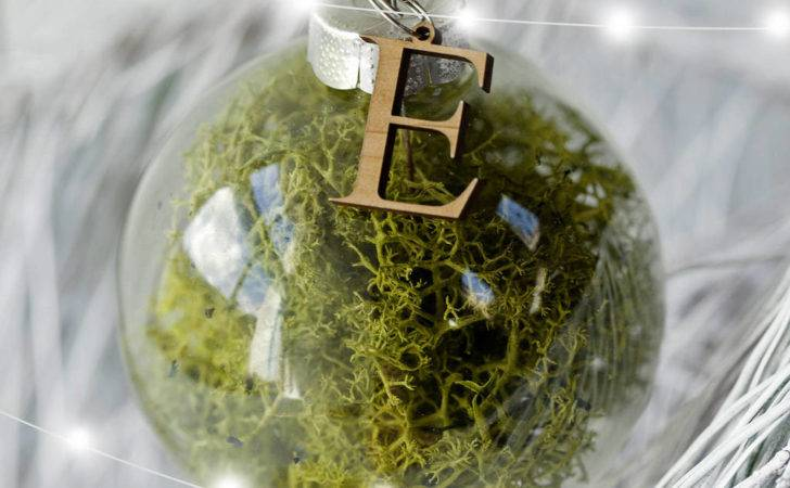 Fill Your Own Personalised Large Glass Bauble