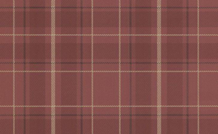 Fine Decor Caledonia Red Tartan
